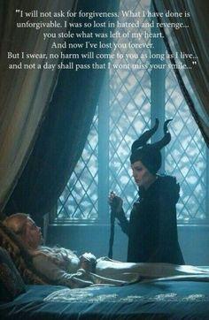 Maleficent is my favorite Disney villain. Disney And Dreamworks, Disney Pixar, Walt Disney, Disney Love, Disney Magic, Evil Disney, Maleficent Quotes, Maleficent 2014, Angelina Jolie Maleficent
