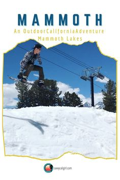 For an adventure this winter, don't miss Mammoth Lakes California. It is a premier California travel destination. Mammoth Lakes California, California Travel, Travel Destinations, Travel Tips, Stuff To Do, Things To Do, Places To Go, Adventure, Winter