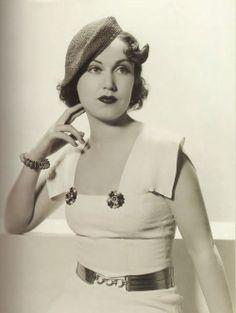 Fay Wray, 1934.