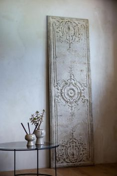 Make an instant impact in your home with this stunning & stylish French Shutter. With iron decoration it looks rustic & will be a feature in any home interior. Home Interior Accessories, Shutter Wall, Room Divider Screen, Room Dividers, Rustic Shutters, Rockett St George, Decorative Screens, Boho Room, Metal Panels