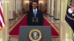 Funniest Animated GIFs of President Obama