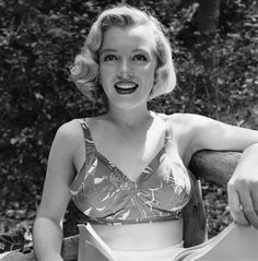 Marilyn flashes a brilliant smile. It's hard to believe that just four years earlier, she was Norma Jeane Dougherty, the wife of a Merchant Marine and a worker in a munitions factory.