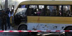 Atleast four injured in Kabul bus explosion