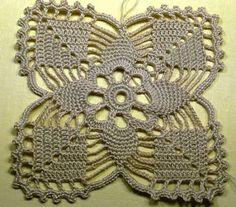 Crochet Your Very Own Doily Table Runne - Diy Crafts - maallure Crochet Motif Patterns, Crochet Blocks, Crochet Diagram, Crochet Squares, Crochet Designs, Crochet Tablecloth, Crochet Doilies, Crochet Flowers, Knit Crochet
