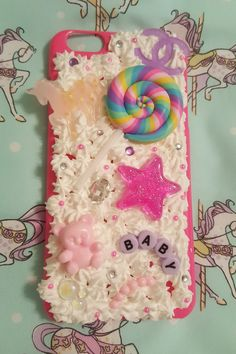Hey, I found this really awesome Etsy listing at https://www.etsy.com/listing/271084468/cute-lollipop-baby-iphone-6-plus-decoden