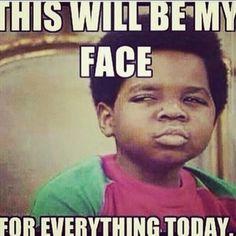 April Fools Day Face