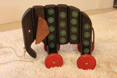 BREITSCHWERDT ELEPHANT pull toy