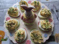 Kulinarne Wariacje: Wielkanocne jajka z rzeżuchą