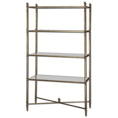 Uttermost 24277 Henzler Mirrored Glass Etagere -- You can find out more details at the link of the image. (This is an affiliate link) #Mirrors