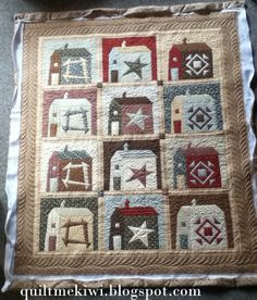 Buggy Barn quilt. Quilted by Leeanne at quiltmekiwi.blogspot.com