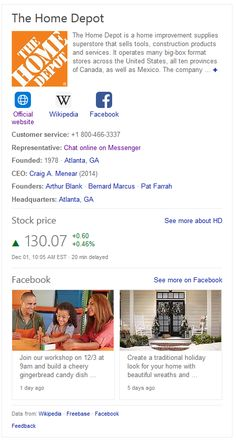 Bing has begun showing the latest Facebook posts in the knowledge panels in the search results. This adds freshness to the knowledge panel by showing recent content that brand has posted to their official Facebook page. Bing will show the latest Facebook posts in a card style, showing up to two of… Social Media Search Engine, Search Engine Marketing, Latest Facebook, Business Branding, Knowledge, Ads, Posts, Content, Style