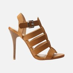 You're looking at a must-have high-heel silhouette for the spring/summer season, to wear with your turned-up jeans and drop-waist dresses. It features multiple straps with a buckle at the ankle to complete the look. Drop Waist, Me Too Shoes, I Am Awesome, High Heels, Spring Summer, Wedges, Silhouette, Ankle, How To Wear