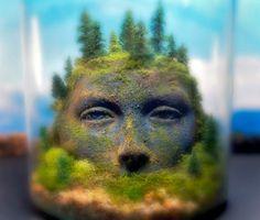 A Mystifying Sci-Fi-Inspired Terrarium - My Modern Met