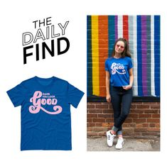 """""""Daily Find: TATY T-Shirt"""" by polyvore-editorial ❤ liked on Polyvore featuring DailyFind"""