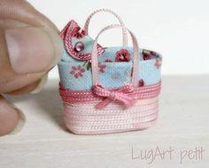 I love the little matching purse .. inspiration.