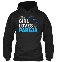 Love PAREJA - Name Shirts #Pareja