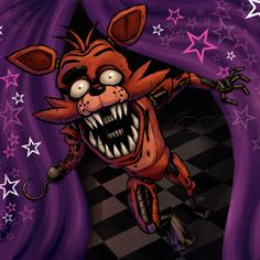 How to Draw Foxy the Fox, Five Nights at Freddys, Step by Step, Video Game Characters, Pop Culture, FREE Online Drawing Tutorial, Added by KingTutorial, October 13, 2014, 2:40:11 pm