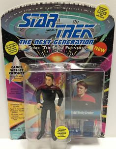 (TAS033517) - 1993 Playmates Star Trek The Next Generation Cadet Wesley Crusher