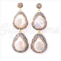 Gipsy&Gems double drop earrings