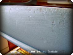 Homemade Chalk Paint – Not Bad!!! | Too Much Time On My Hands