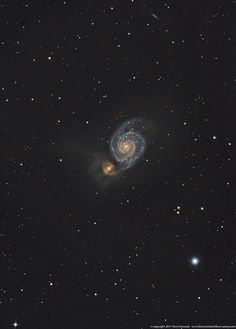 M51 The Whirlpool Galaxy LRGB | Flickr -Terry Hancock