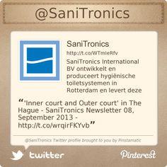 'Inner court and Outer court' in The Hague - SaniTronics Newsletter 08, September 2013 - http://eepurl.com/FEgcr