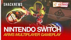 Nintendo Switch: ARMS Multiplayer Gameplay - http://gamesitereviews.com/nintendo-switch-arms-multiplayer-gameplay/