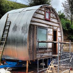 Final window in , cladding started. | Flickr - Photo Sharing!