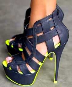 strappy high heels shoes #UNIQUE_WOMENS_FASHION