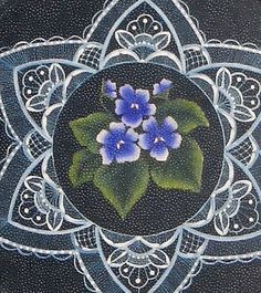 Wild Violets and Lace by Lorraine Morison New Lace Packet 2009 | eBay