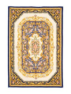Versace Furniture Le Dome Baroque Gold Rug Buy Online At