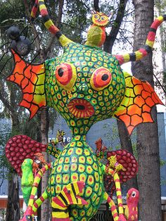Alebrijes by Cucubianita, via Flickr