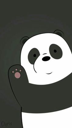Best of We Bare Bears Wallpaper - Get super charming and attractive ideas related of We Bare Bears Cartoon Images on ThePhotocrafters. You'll find a spectacular selection of HD wallpapers and backgrounds. Cute Panda Wallpaper, Bear Wallpaper, Cute Disney Wallpaper, Wallpaper Iphone Cute, Wallpaper Backgrounds, White Wallpaper, Hello Wallpaper, Nautical Wallpaper, Mobile Wallpaper