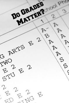 Are grades necessary in judging student's academic progress?:
