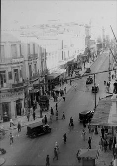 1935 ~ Athens (photo by Leo Wehrli) - grans photos