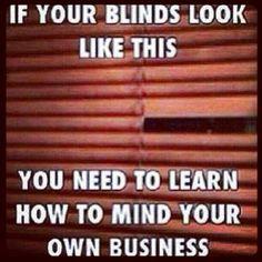 Mind ur own business