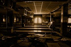 Abandoned bowling center