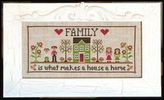 Country Cottage Needleworks - Family Home