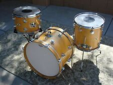 Vintage Camco Drum Set Kit Shell Pack131420oaklawn Natural Maple Drum Set Drums Camco