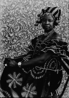 Untitled 1956/1957  23 x 19 in By Seydou Keïta. What a talented photographer he was.