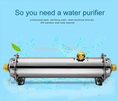 Water filter cartridge quick connection 1000L/H ultrafiltration water purifier for house use