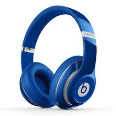 【国内正規品】Beats by Dr.Dre Studio Wireless 密閉型ワイヤレスヘッドホン ノイズキャンセリング Bluetooth対応 ブルー BT OV STUDIO WIRELS BLU