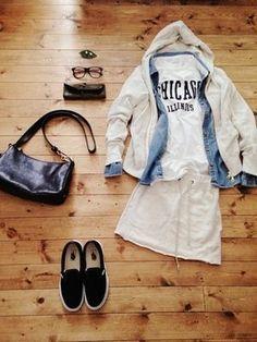 春ファッション決め手は「白スカート」☆おしゃれ着こなしコーデ術! - NAVER まとめ