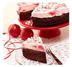 Peppermint Upside Down Cake