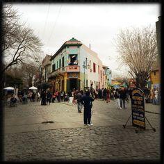 Caminito, La Boca, Buenos Aires, Argentina. Street View, Places, Travel, Argentina, Buenos Aires, Viajes, Trips, Tourism, Lugares