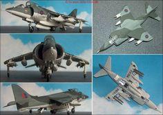 """BAe (Hawker) """"Harrier"""" GR.Mk.1 (Hasegawa 615) 1:72"""