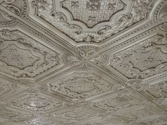 Tin ceiling- I want this in my kitchen some day