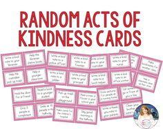 Random Acts of Kindness {Promoting Kindness in the Primary Classroom