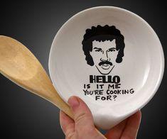 Lionel Richie Crooning Spoon Rest