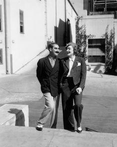 Groucho Marx-Marlene Dietrich